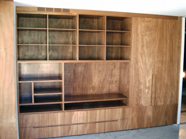 Entertainment joinery