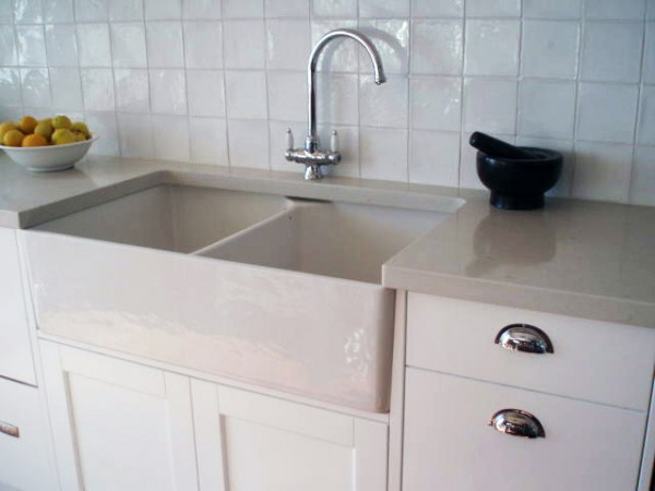 Belinda Slape kitchen sink and cupboards