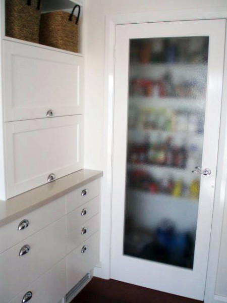 Belinda Slape kitchen pantry