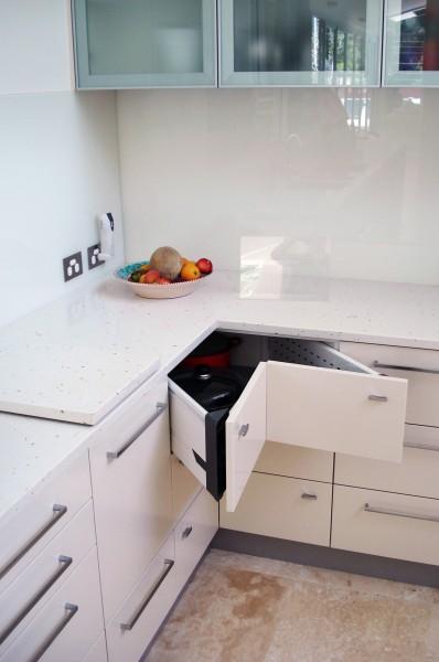 Hastings Rd Terrigal kitchen corner drawers