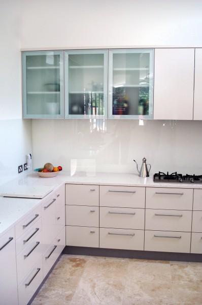 Hastings Rd Terrigal kitchen corner cupboards