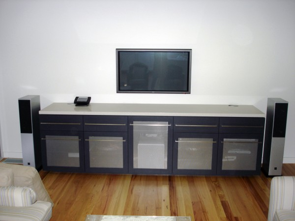 Beach Drive, Killcare TV cabinet