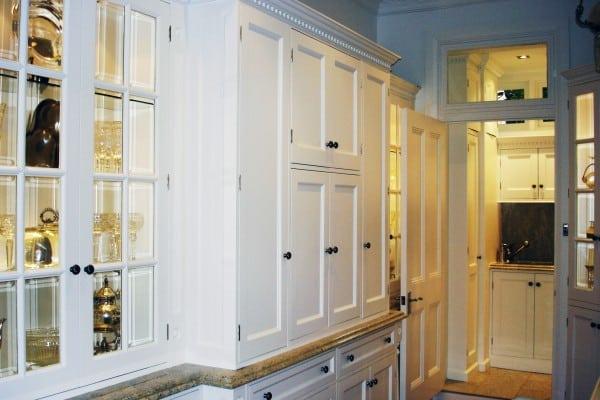 Mosman kitchen display cupboards