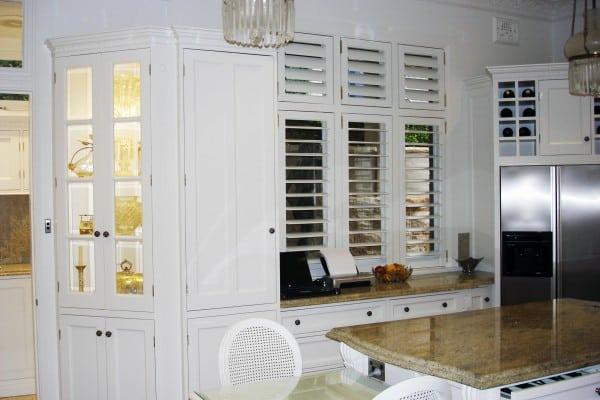 Mosman kitchen display case