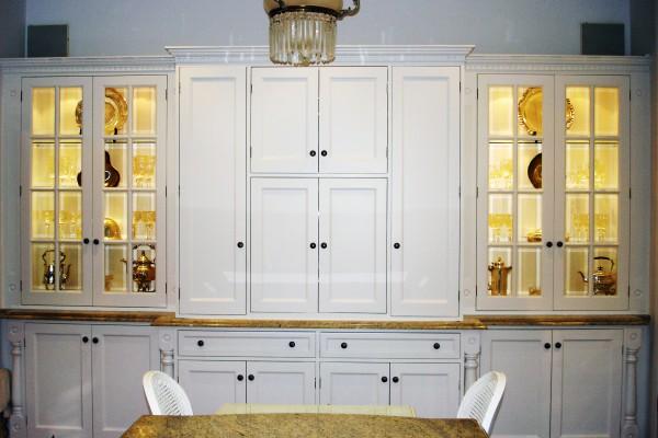 Mosman dining room cupboards