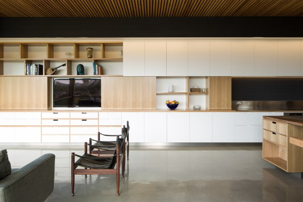 Warriewood cabinetry wall