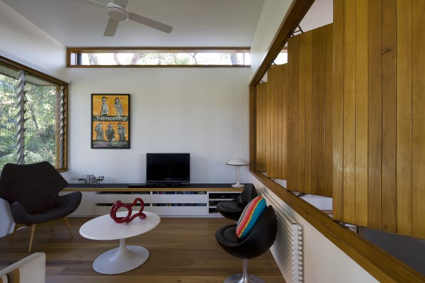 Ozone St, sitting room joinery