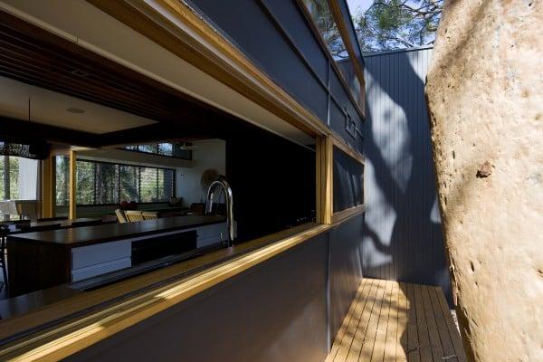 Ozone St, kitchen window